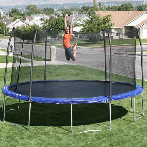 Skywalker 16' X 14' Oval Trampoline And Safety Enclosure