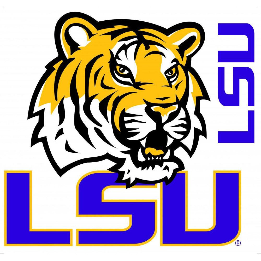 & Peel Tigers Lsu  Lsu logo, | Logo LSU tigers Stick Decal
