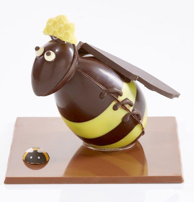 Pâques 2017 Abeilles Et Ruches Chez Jadis Et Gourmande Pièces En Chocolat,  Deco Chocolat,