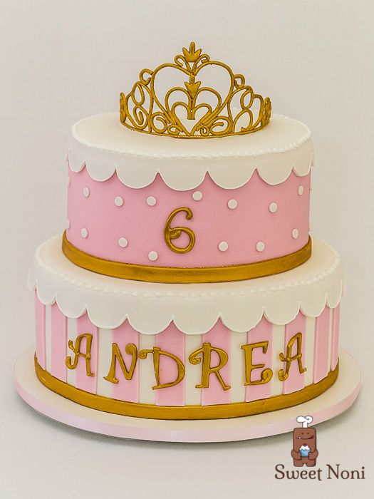 Princess's cake, really girly one