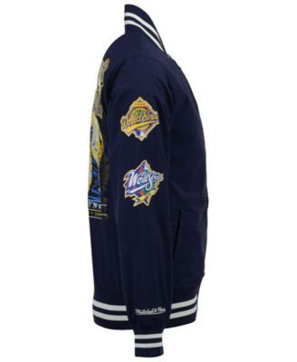 97e4376e8bf Mitchell and Ness Men s New York Yankees Team History Warm Up Jacket - Blue  XXL