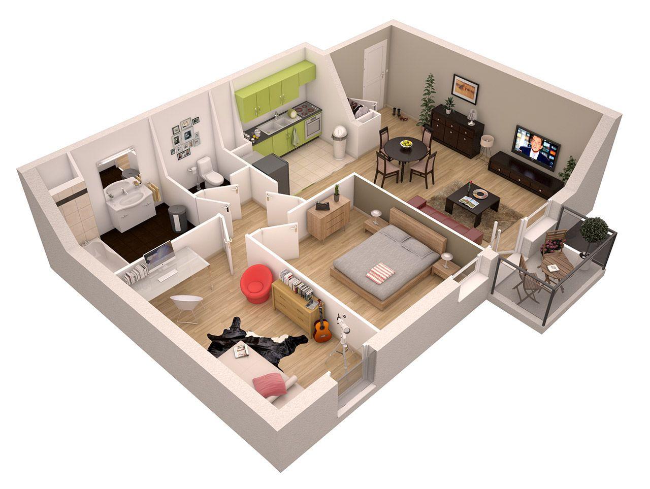 Découvrez les exemples de logement en proposés par plus immo du studio à la maison en passant par lappartement