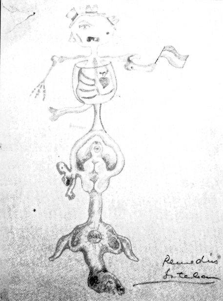 Cadavre Exquis B, 1935 – Remedios Varo Remedios Varo