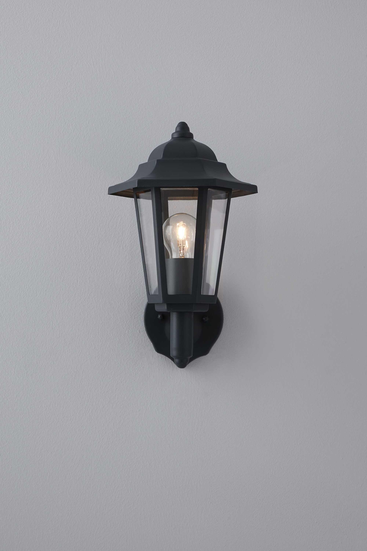 Azalea uplighter wall light grey bhs outside pinterest