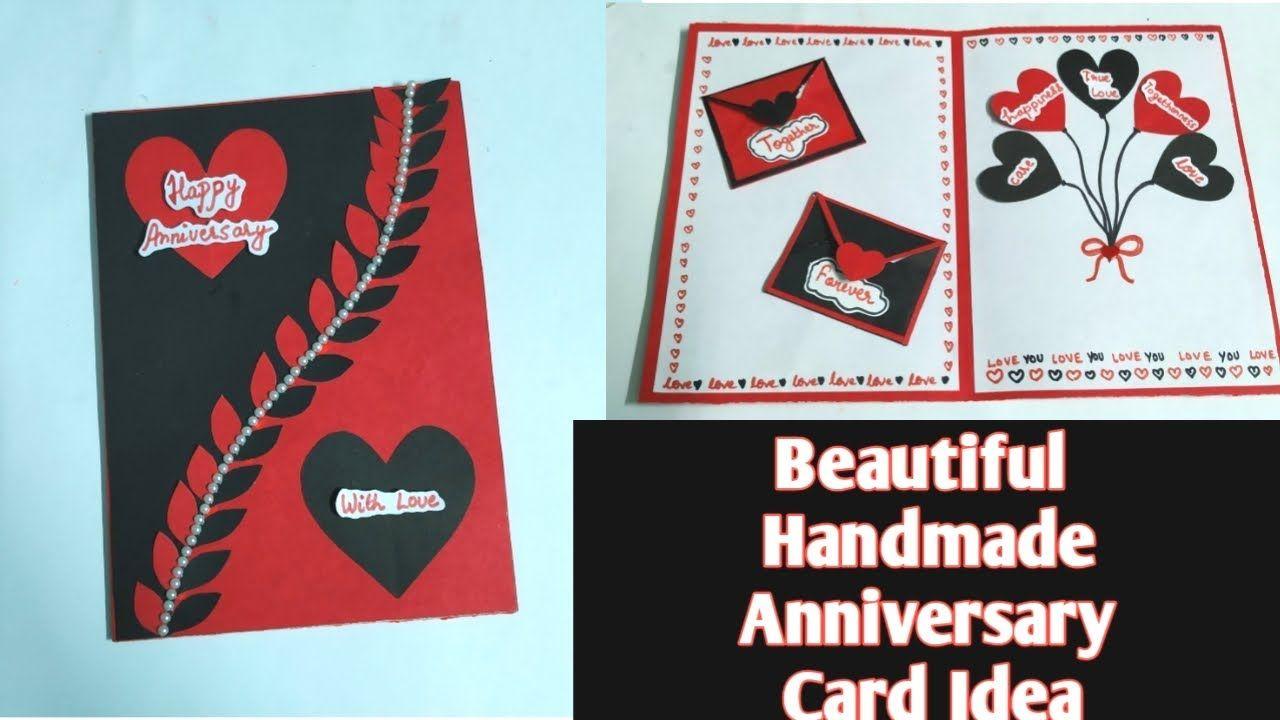 Beautiful Handmade Anniversary Card Idea Anniversary Card For Parents Anniversary Cards Handmade Anniversary Card For Parents Anniversary Cards