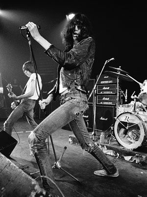 I saw the Ramones in the early 90's at the State Theater in Detroit.  They played about 60 songs in 80 minutes, and sounded great.