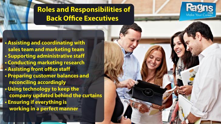 Job Description And Responsibilities For Back Office Executives Job Job Description Job Portal