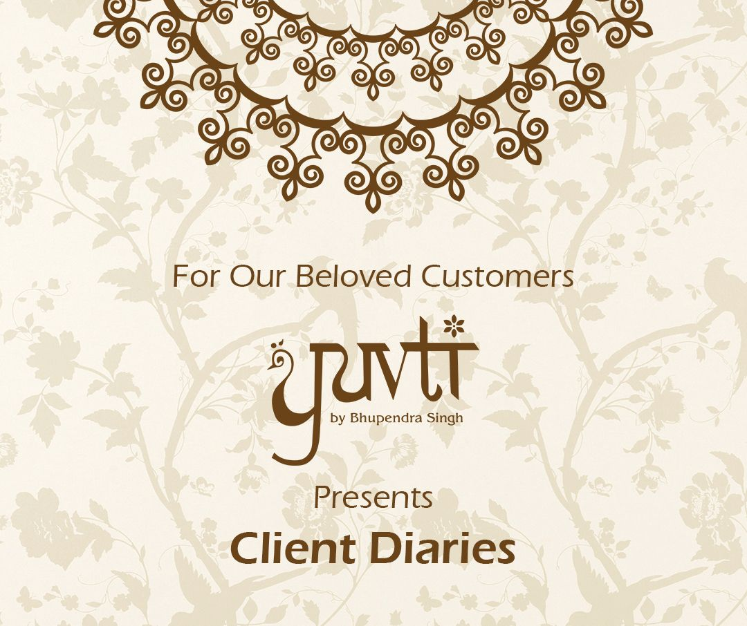 Yuvti by Bhupendra Singh, celebrates its customers with Client Diaries. For more details visit: https://business.facebook.com/events/692317287602911/