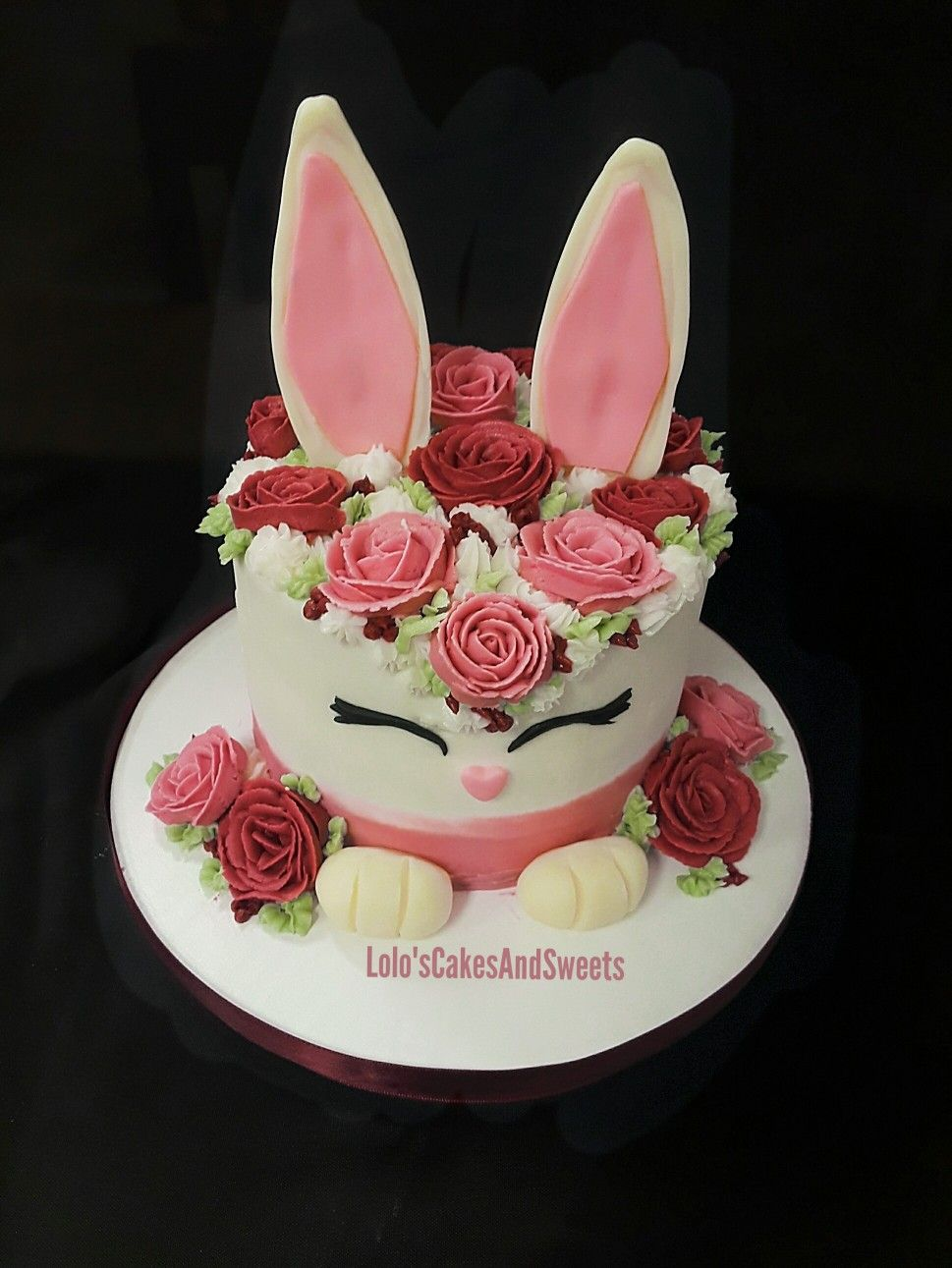 Spring Bunny Cakes By Lolo S Cakes And Sweets Priscilla