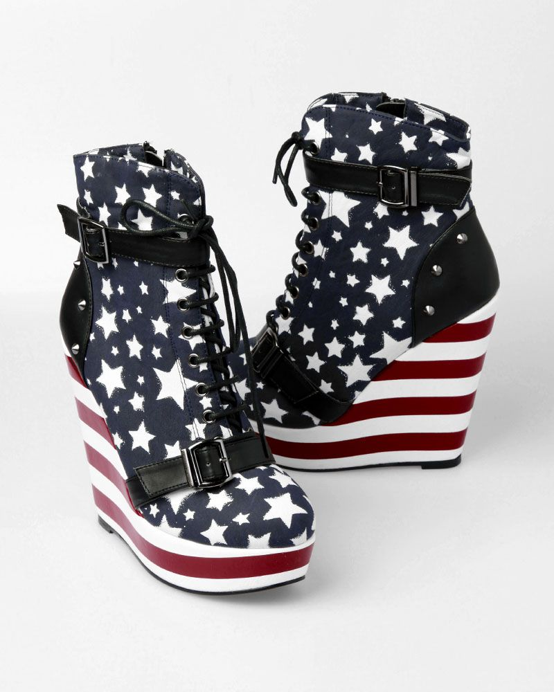 These shoes are intense! $95 on punk.com