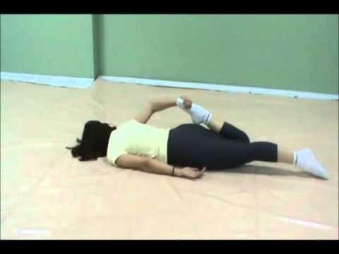 Alongamento Do Quadriceps Reverte Hernia De Disco Youtube