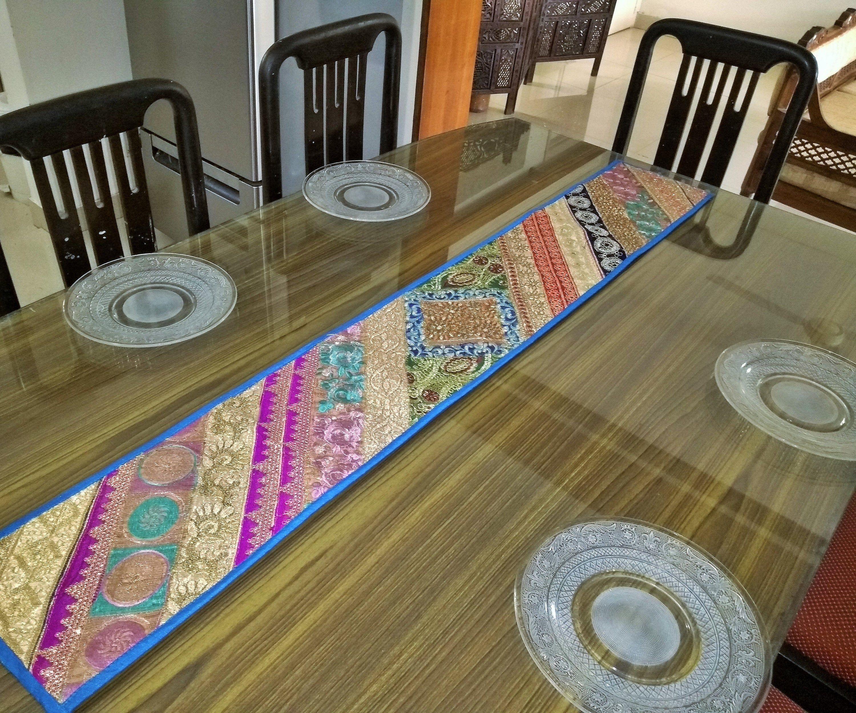 #VintageTableRunner , #TableRunnerIndian , #PatchworkTableRunner     #DiningTableDecor ,  #DiningRoomDecorations ,  #BohemianDecor #BohoTableRunner    #PartyDecor#Diningroomtable#TableDecor#EmbroideredRunner#VintageTapestry#IndianTableRunner #SariPatchwork#DiningTableDecor  #TableRunnerIndian #VintageTableRunner#PatchworkRunner