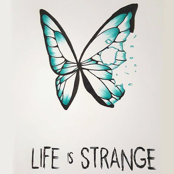Small Butterfly Life Is Strange Tattoo Design Tattoos Tattoos