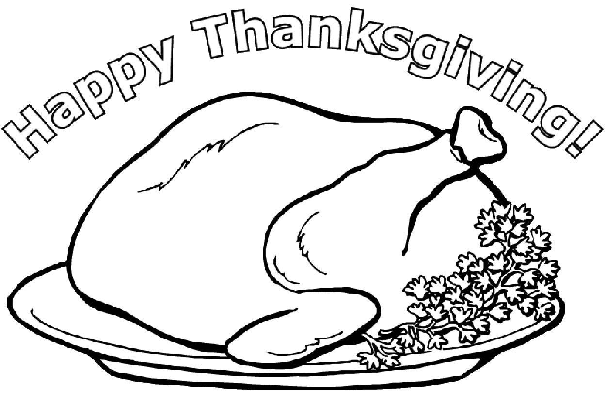 Snoopy Thanksgiving Pictures To Color, Thanksgiving