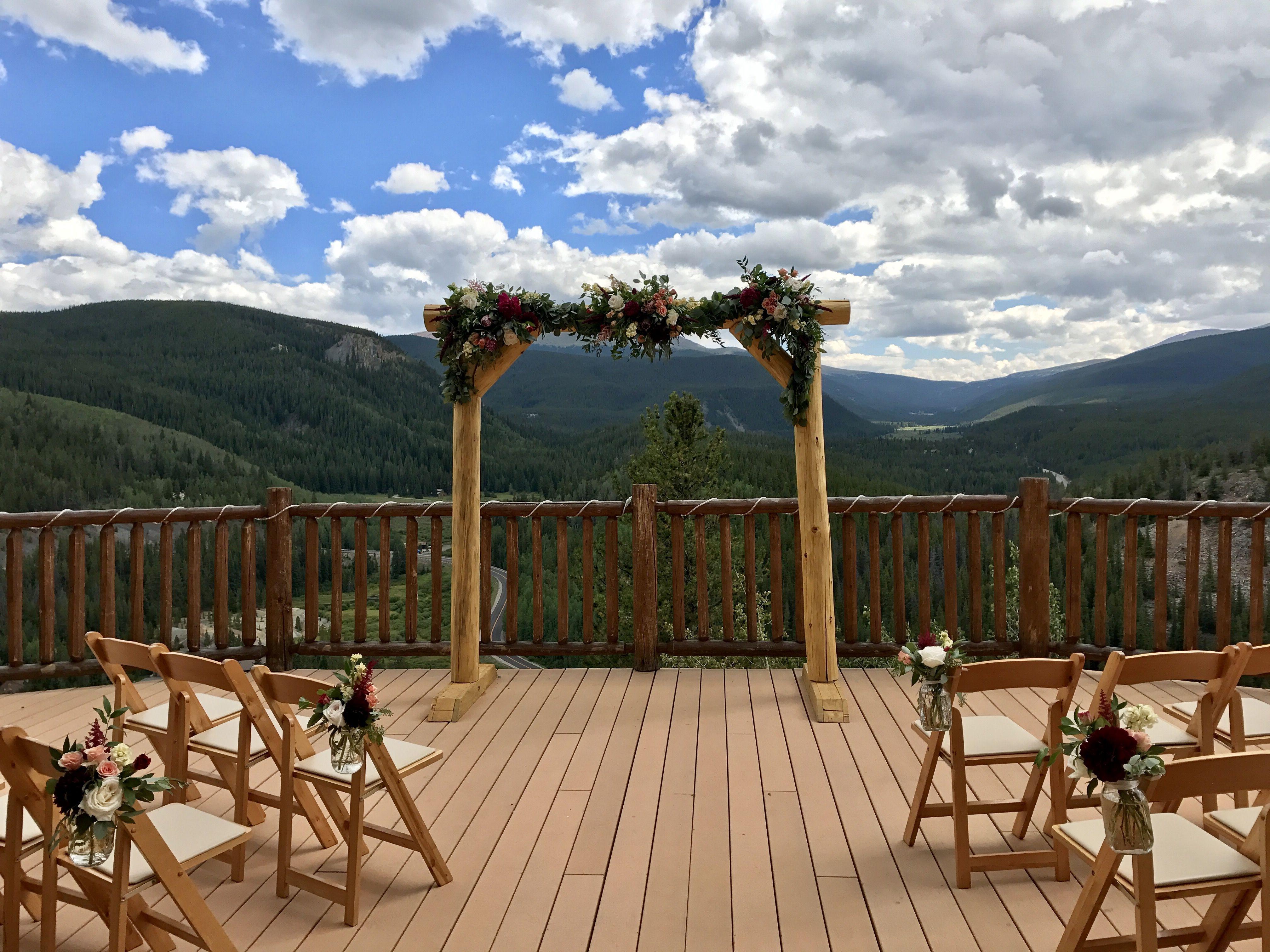 "The perfect setting to say ""I do."" coloradoweddings"
