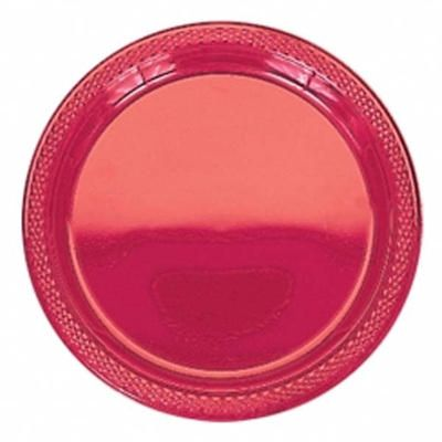 Apple Red 9 inch Plastic Plates/Case of 200  sc 1 st  Pinterest & Apple Red 9 inch Plastic Plates/Case of 200 | Party Supplies ...