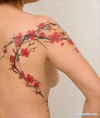 Weeping Cherry Tree Blossom Tattoo Cherry Blossom Tattoo Cherry Blossom Tattoo Meaning