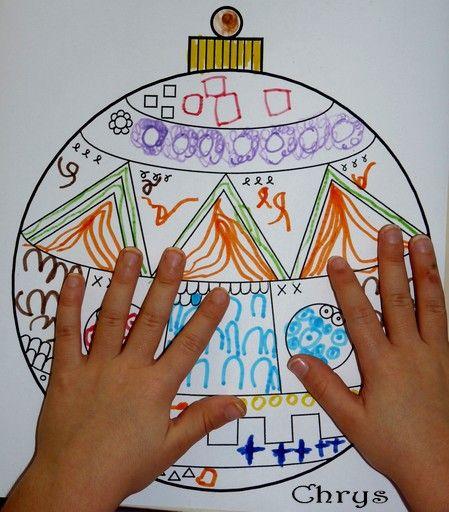 Le Journal de Chrys: Graphisme de Noël