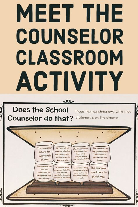 This is a graphic of Bewitching School Counseling Activities