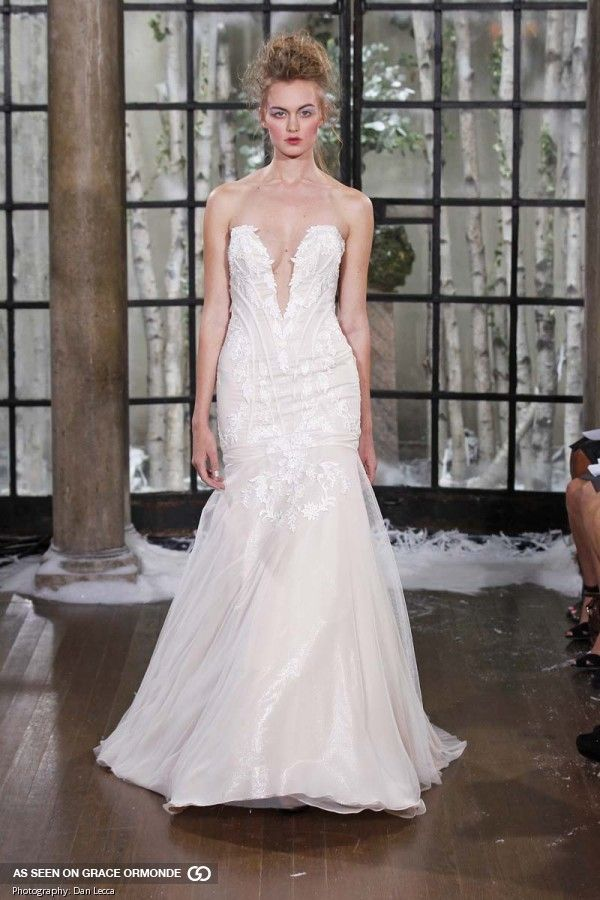 Ines Di Santo Fall/Winter 2015 couture wedding gowns | Wedding planning, wedding dresses, honeymoon, wedding style #graceormonde #weddingstyle #GOWS #platinumlist #inesdisanto #weddingdress #weddinggown #couture #bridalfashion #bridalcouture #luxurybrides #bride #bridalgown #fashion #couturebridal #luxuryweddings