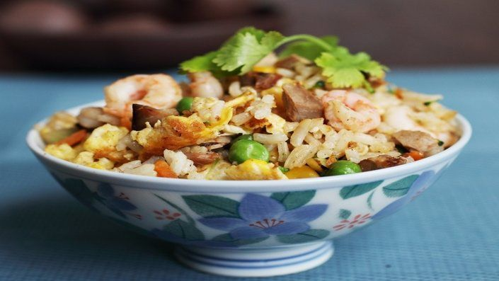 Ching S Yangzhou Fried Rice Recipe In 2020 Food Network Recipes Food Recipes Fried Rice