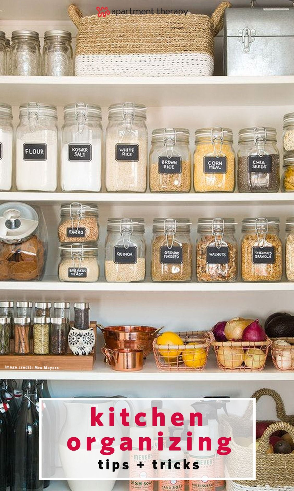 Your dream pantry awaits these super organized spaces will serve to diy organizing ideas for kitchen pantry organization for the new year cheap and easy ways to get your kitchen organized dollar tree crafts solutioingenieria Gallery