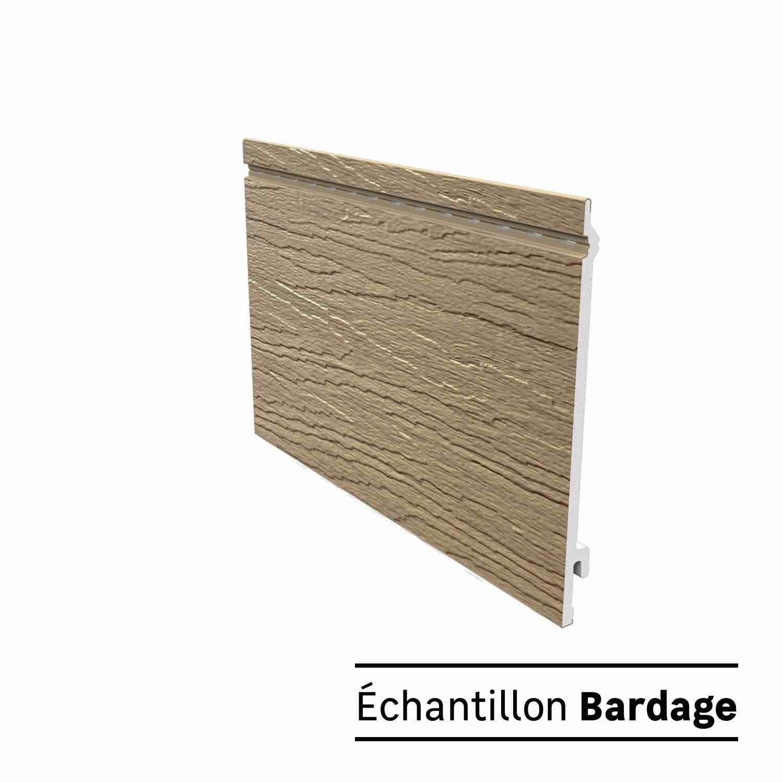 Echantillon Clin Pour Bardage En Panneau Pvc Bois Naturel Faza Wood Freefoam Panneau Pvc Bardage Bois Naturel