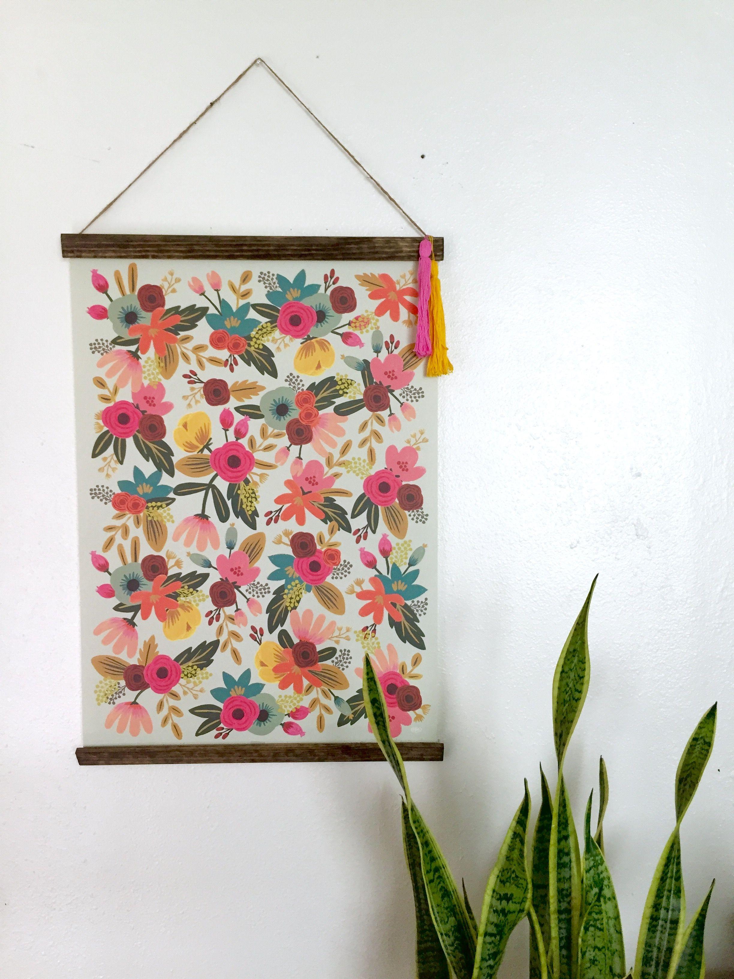 Beautiful DIY Poster Frame   Kinderzimmer, Geschenk und Häuschen