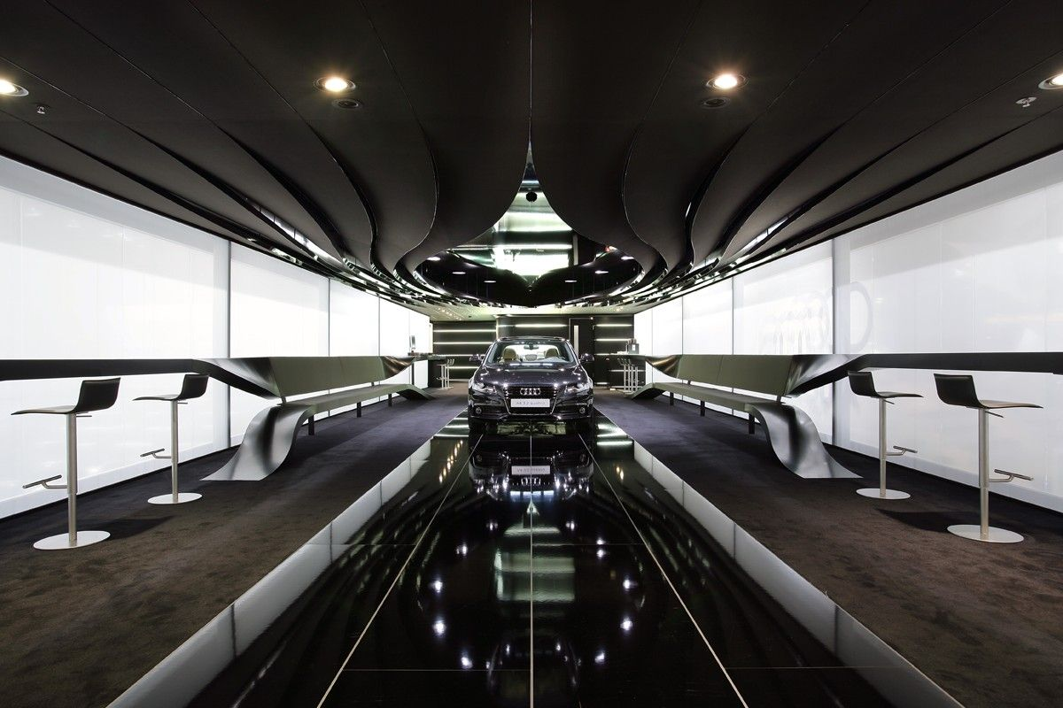 Audi iaa frankfurt 2007 schmidhuber exhibition for Design museum frankfurt