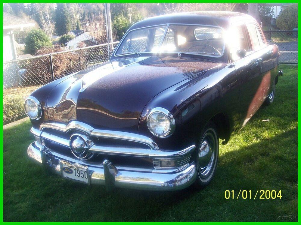1950 Ford Custom 1950 Ford Custom Sedan V8 3speed Manual