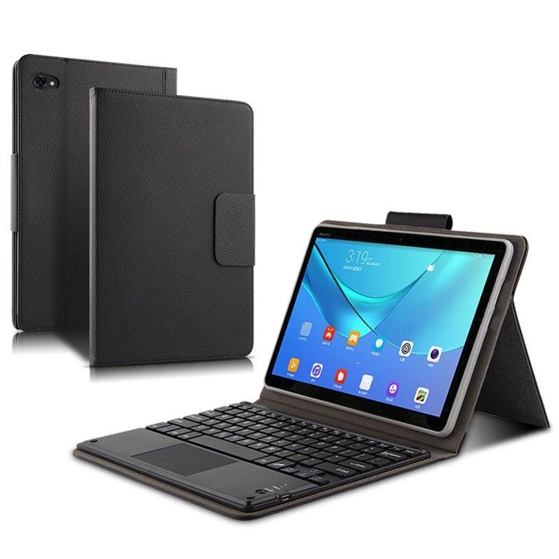 Case For Huawei Mediapad M5 Lite 10 Case Bah2 W09 Bah2 L09 Bah2 W19 10 1 Magnetically Detachable Blue Keyboard Case Bluetooth Keyboard Case Bluetooth Keyboard