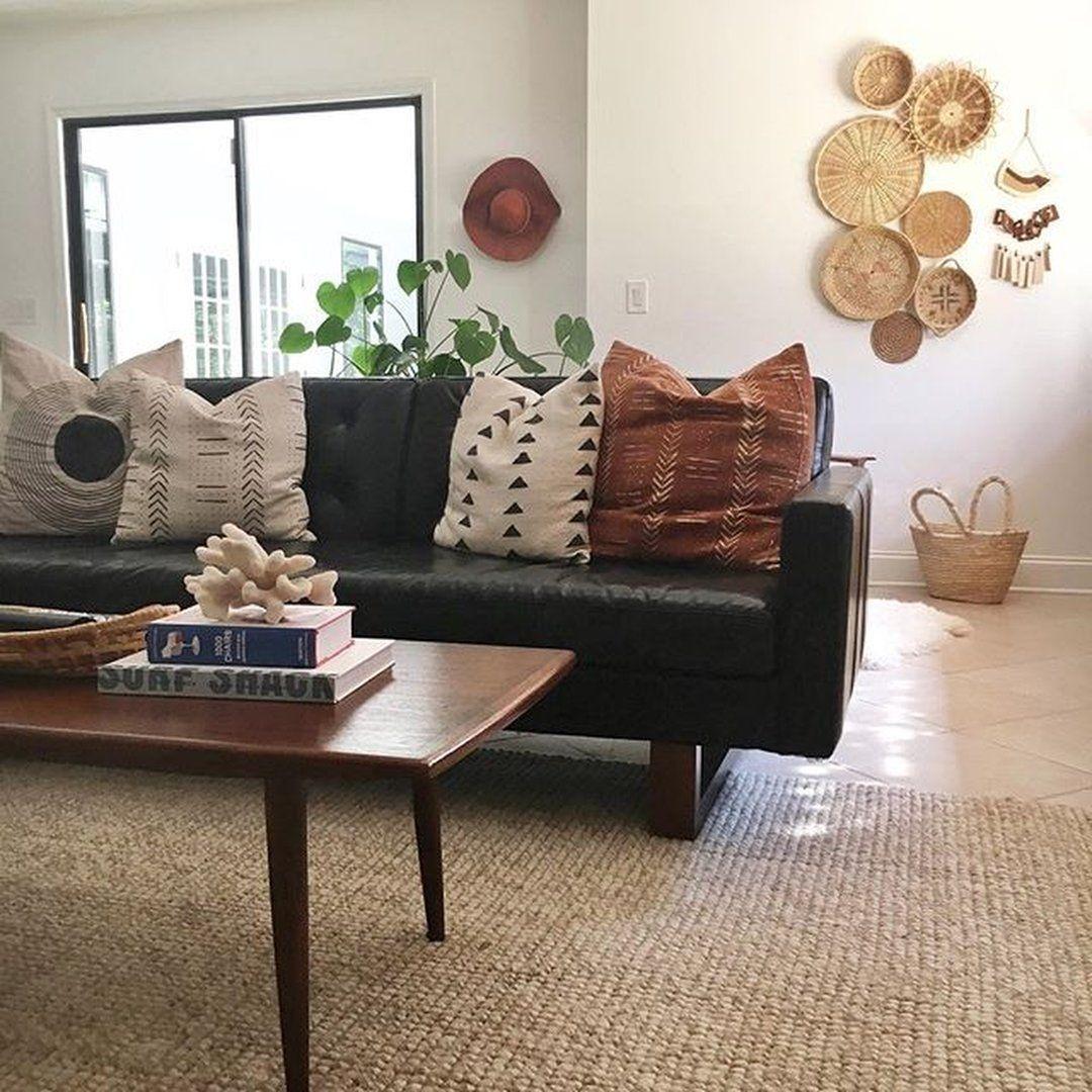 Hard To Find Formal Living Room Furniture Furnituresumatra Smalllivingroomfurnitur In 2020 Black Sofa Living Room Decor Dark Couch Living Room Decor Home Living Room