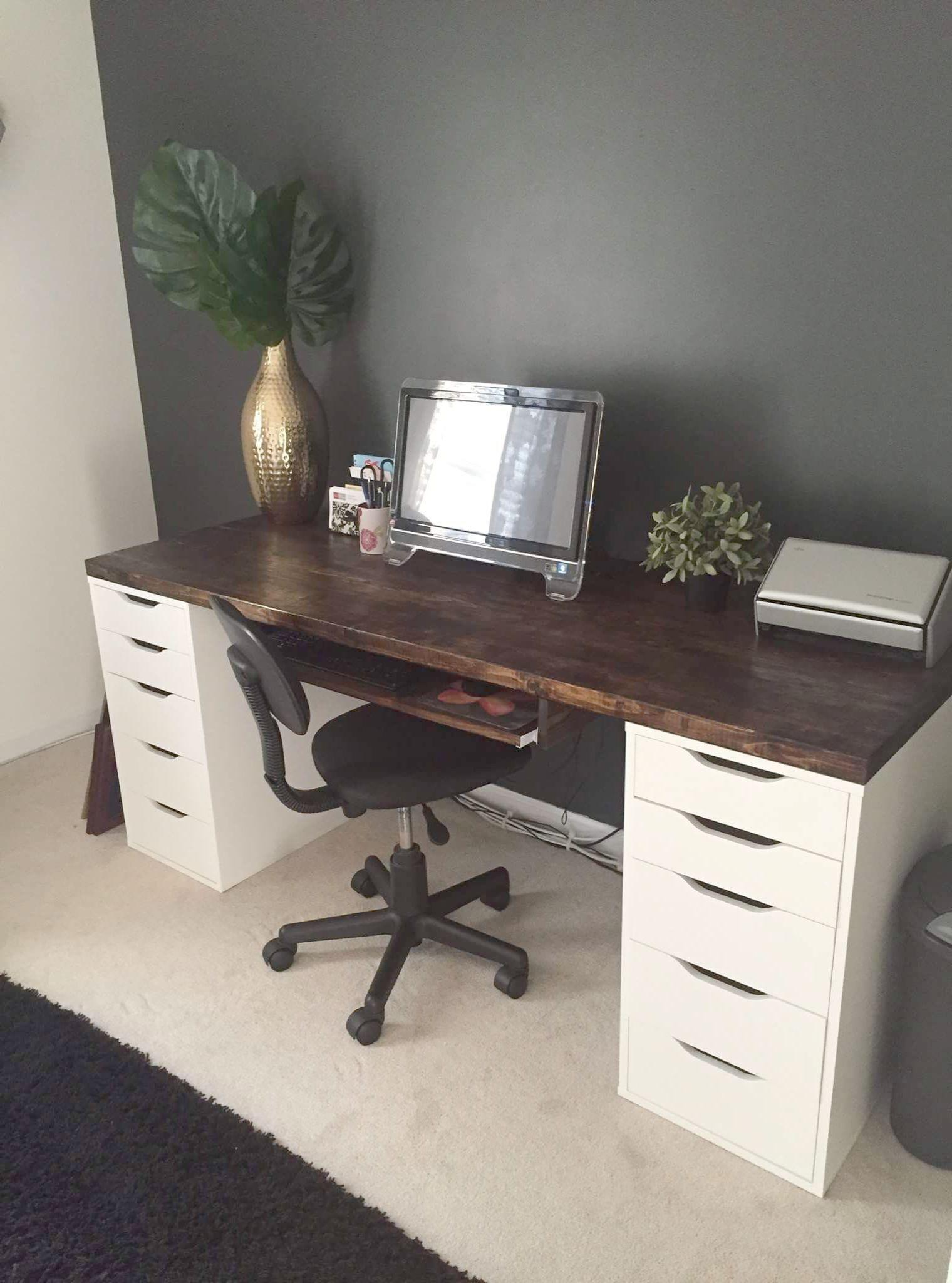 Bush Furniture Key West Collection Diy office desk, Diy