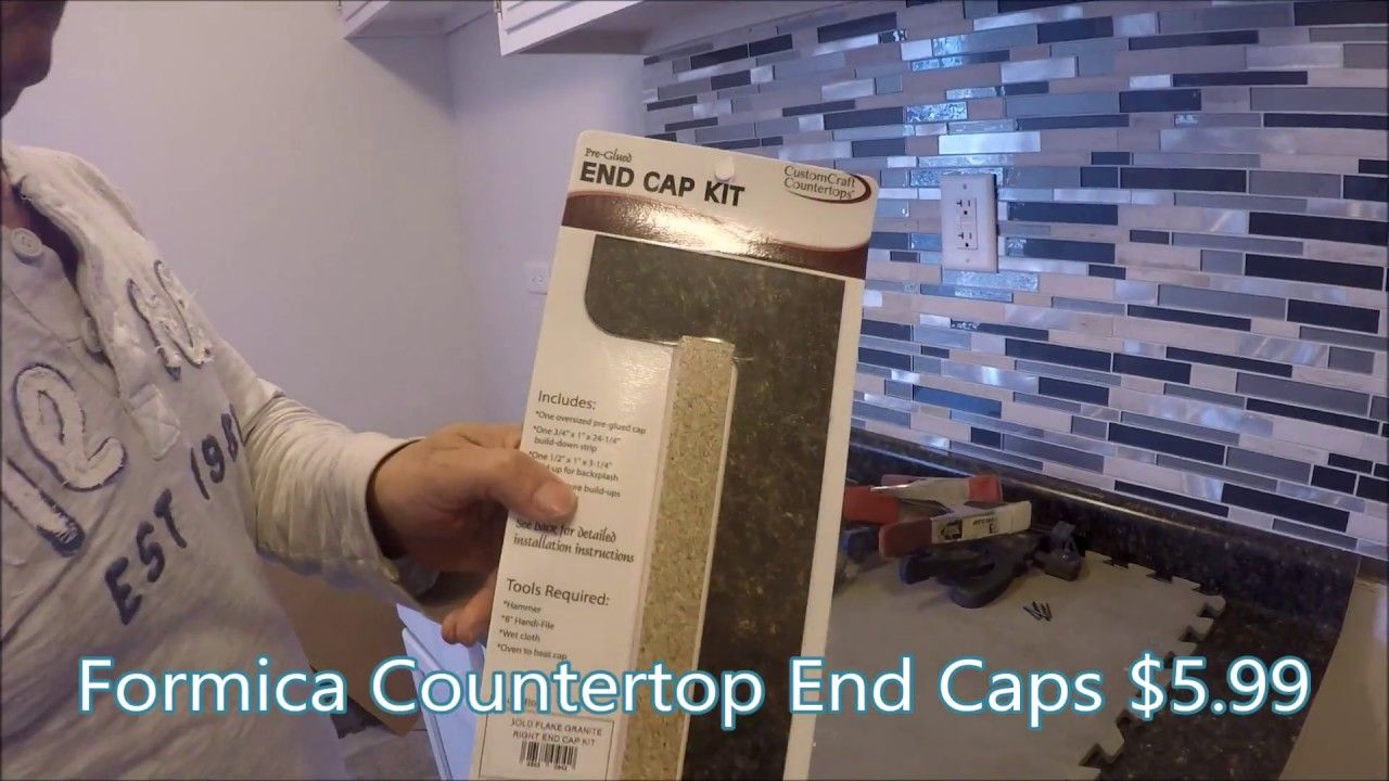 How To Install Formica Countertop End Caps Vedat Usta Formica Countertops Countertops How To Install Countertops