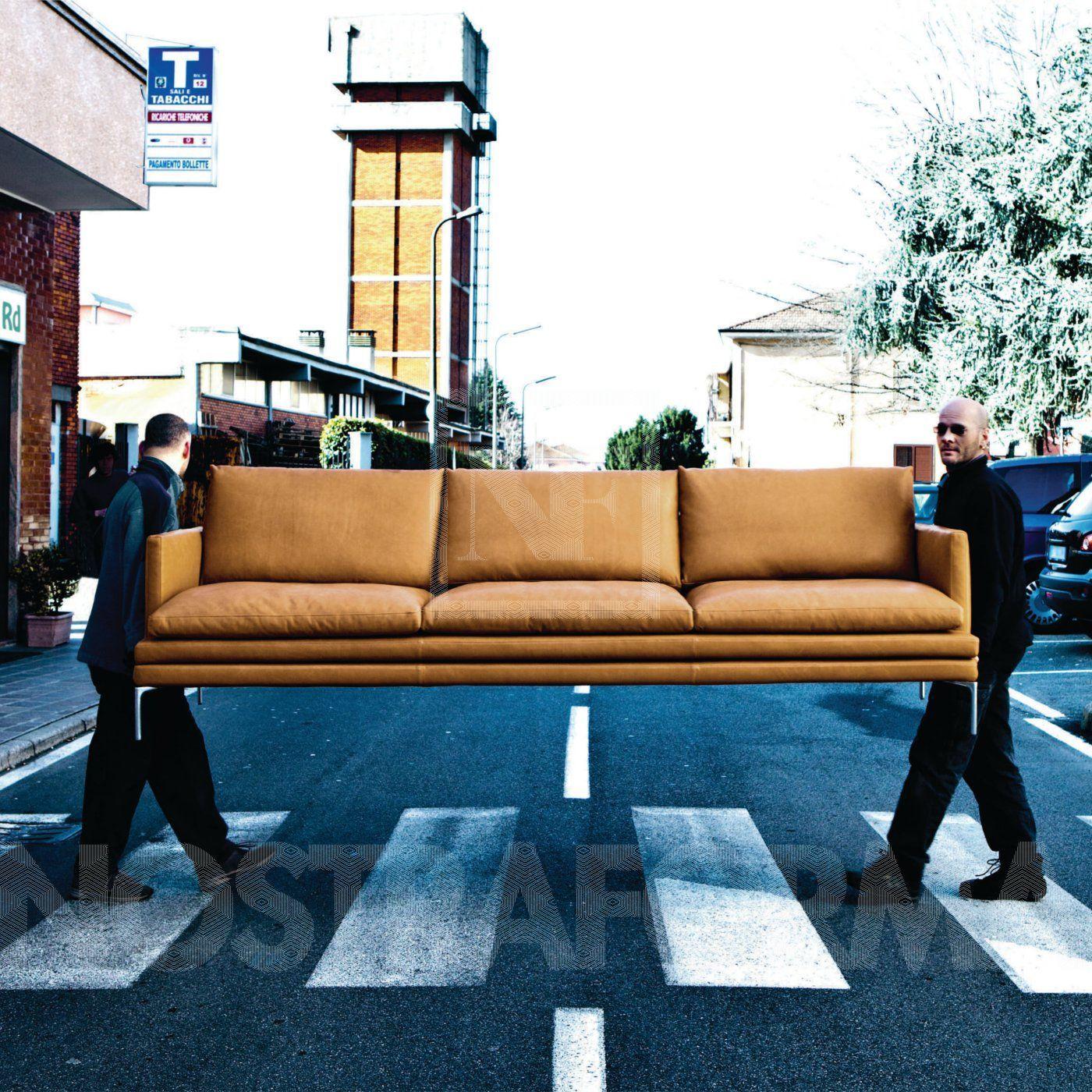 Live Room Design Zanotta William Dreisitzer Ledersofa A Nostraforma Design Shop Fa 1 4 R