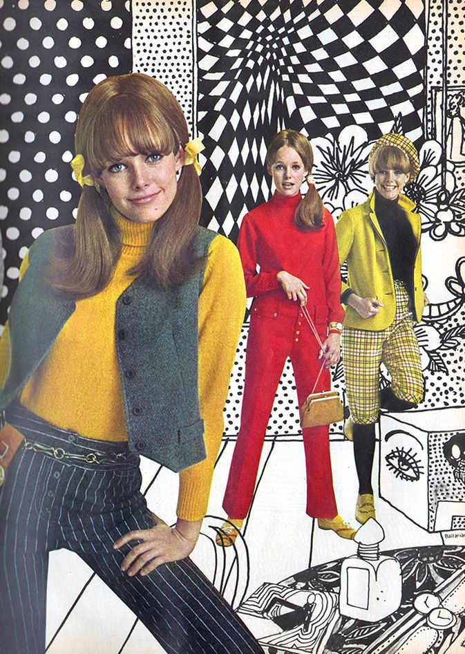 Fashion - Ingenue - October, 1967   60s outfits, Sixties fashion ...