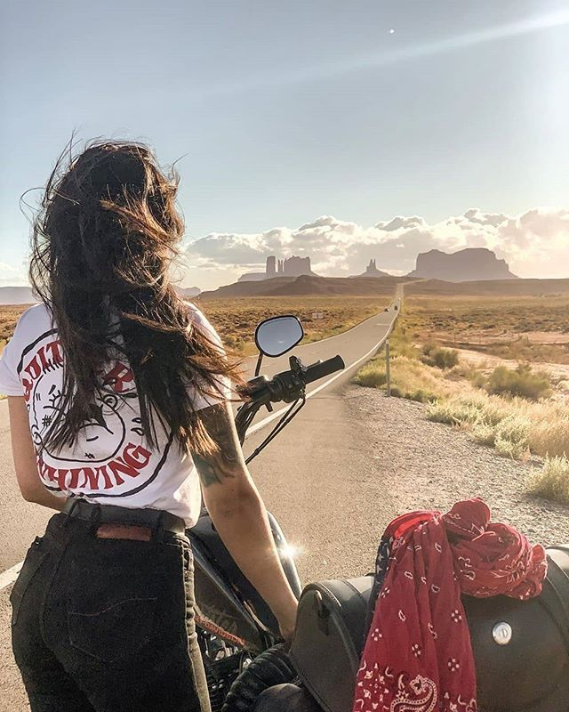 """Moto Femmes on Instagram: """"This is what it's all about!😍 🖤 📸 : @kimmyseago . motofemmes.com.au 