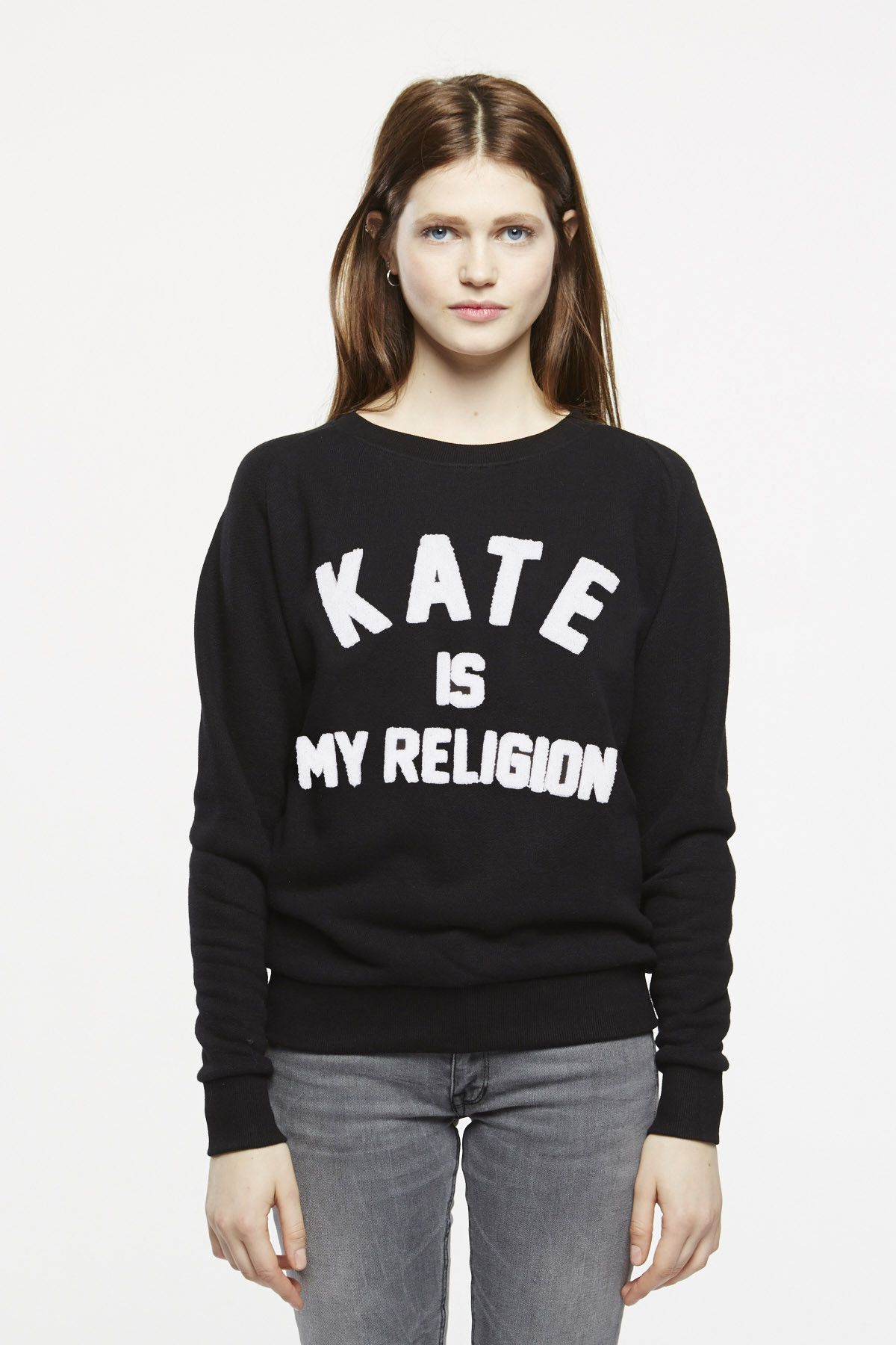 185ee0d8d9dbe Shop for Eleven Paris FATE JP W 'Kate Is My Religion' jumper in black.  Shipping to North America; USA; Canada and Mexico.