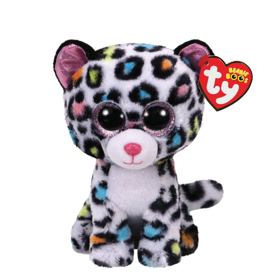 7e31537d2b7 TY Beanie Boo Small Tilley the Leopard Plush Toy
