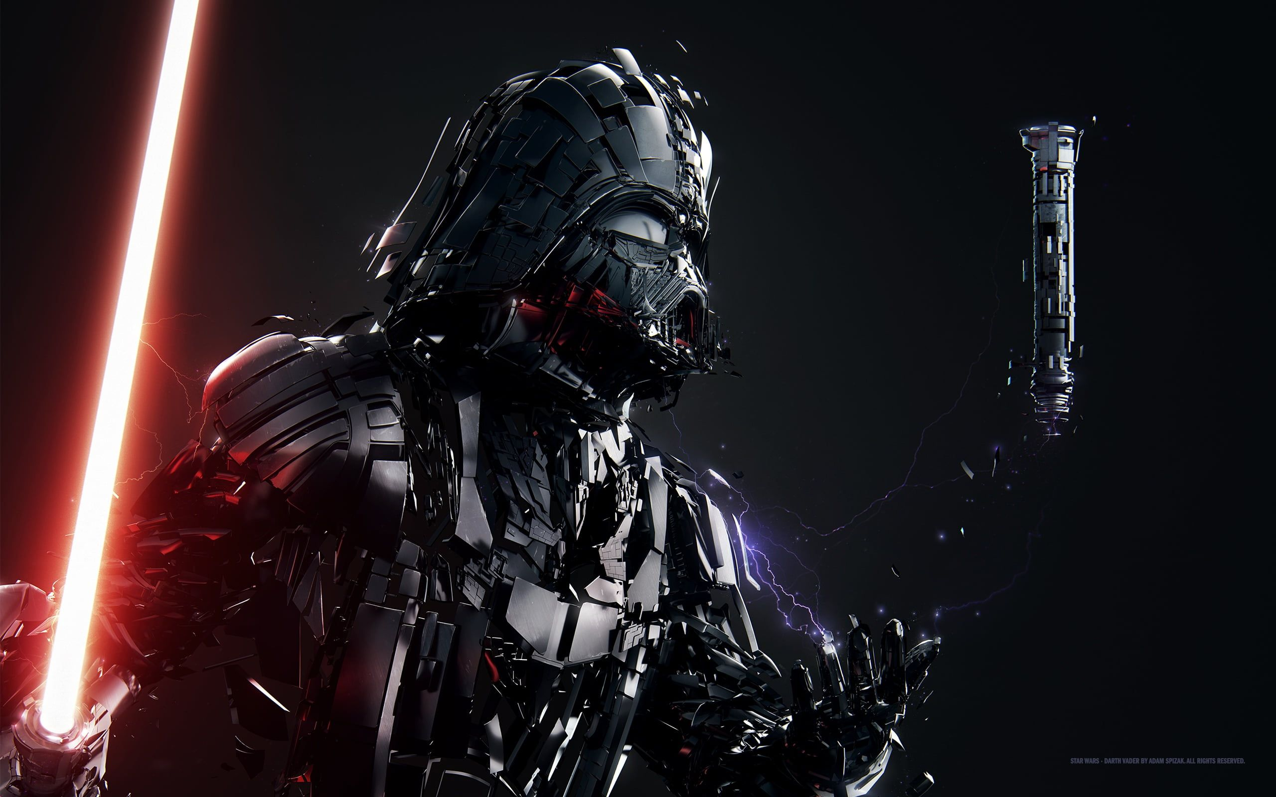 Darth Vader Star Wars Sith Adam Spizak 2k Wallpaper Hdwallpaper Desktop In 2020 Darth Vader Wallpaper Star Wars Wallpaper Star Wars Fan Art