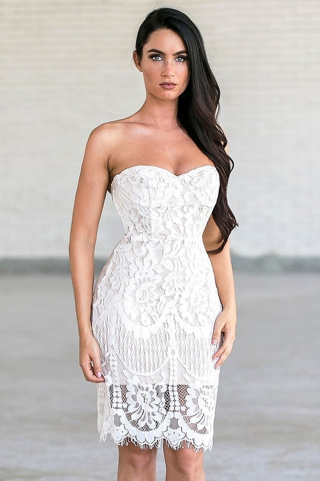 Tips For Looking Your Best On Your Wedding Day Luxebc White Lace Cocktail Dress Cocktail Dress Lace Cute Lace Dresses [ 1537 x 1024 Pixel ]