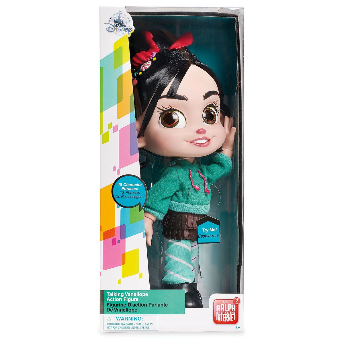 Product Image Of Vanellope Talking Action Figure Ralph Breaks