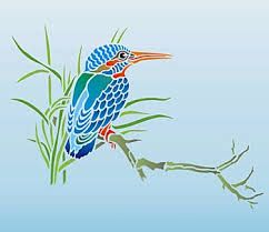 image result for kingfisher silhouette