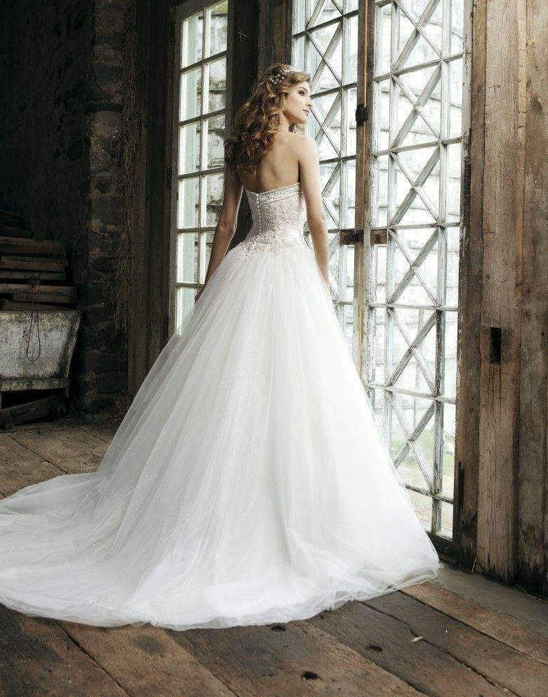 COMPARE TO BRIDES AND MORE PRINCESS GOWN