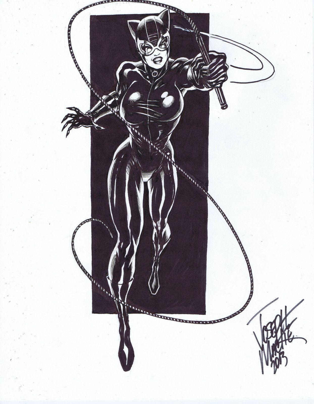 Catwoman Joseph Mackie Batman Art Sketches Art