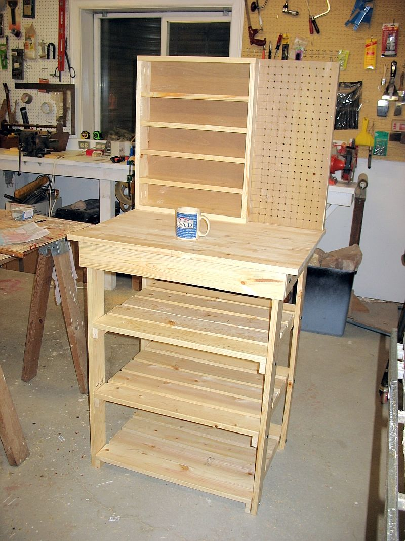 Small Workbench The Dale Maley Family Web Site Crafts