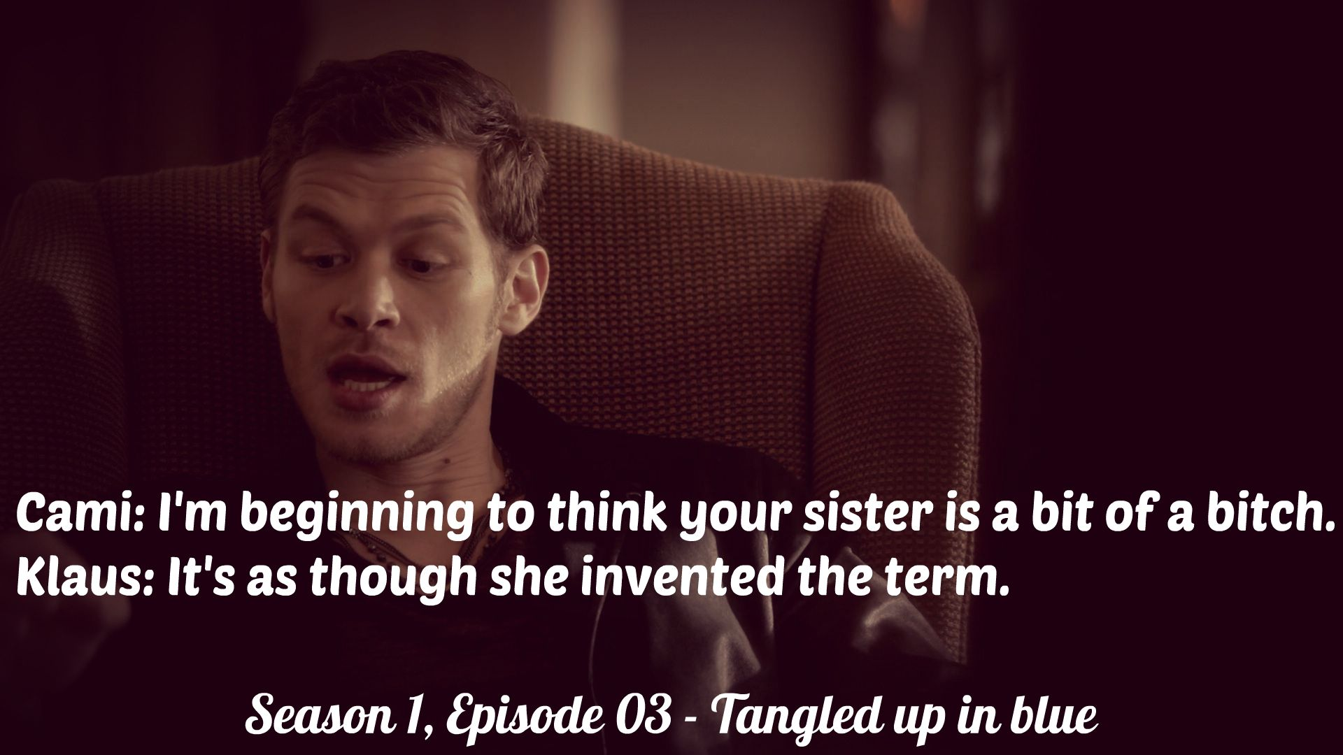 Klaus Mikaelson Quotes Pinveronika Hladová On The Originals Quotes  Pinterest