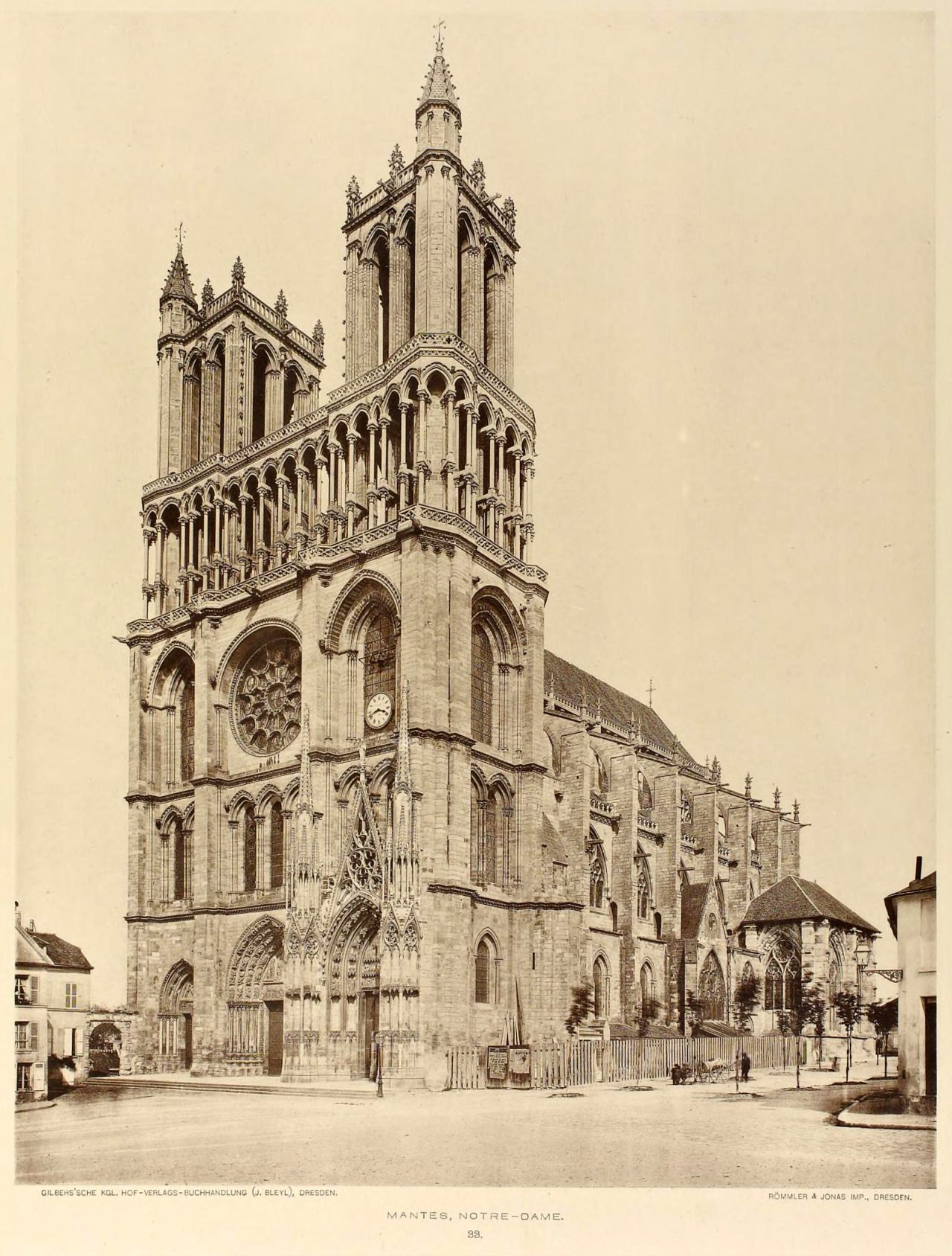 The Cathedral Notre Dame Mantes Architecture Old Architecture Sketches Amazing Architecture Perspective