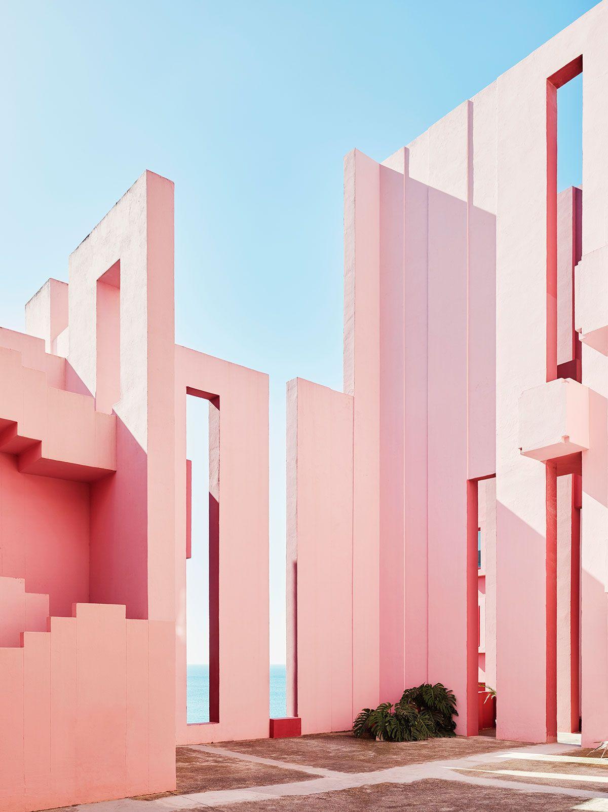 La Muralla Roja Miss Moss Architecture Minimalist Architecture Red Walls