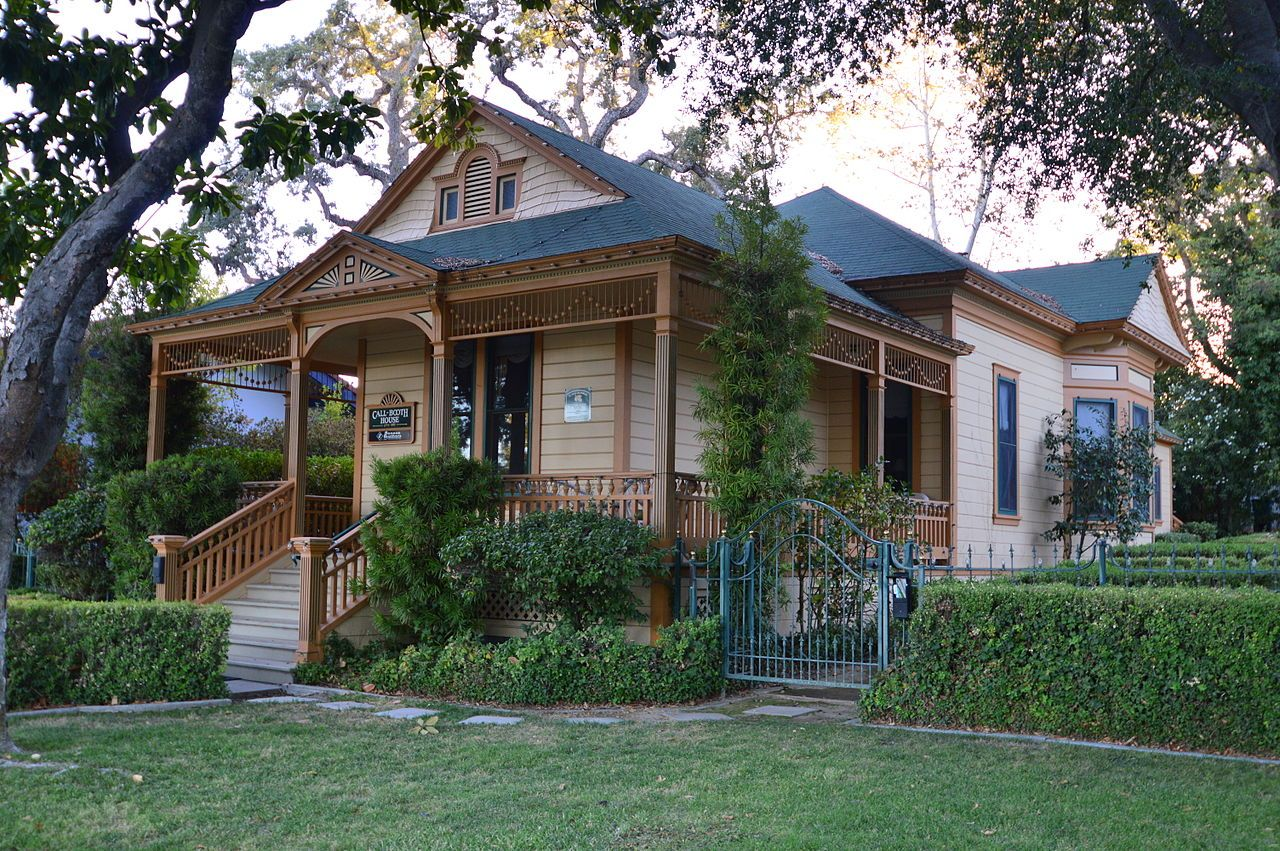 Call-Booth House in San Luis Obispo County, California